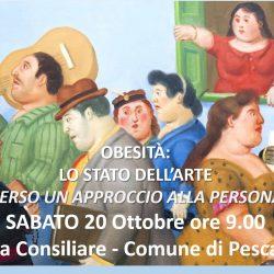 """Convegno: """"Obesità -lo stato dell'arte, verso un approccio alla persona"""